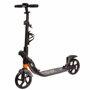Aeroactive Kick Scooter for Adults and Teens with Dual Suspension