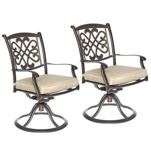 Dali Patio Glider chairs, Garden Backyard Chairs