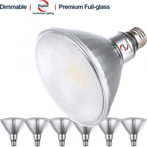Explux 14W Classic Full-glass PAR38 LED Flood Lights