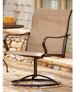 LivingXL Extra Heavy Duty Swivel Outdoor Chair