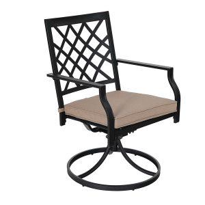 Swivel Patio Dining Chairs