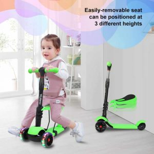 Yoleo 3 Wheels Kids Kick Scooter