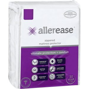 AllerEase Ultimate Mattress Protector - Hypoallergenic and Twin-Sized