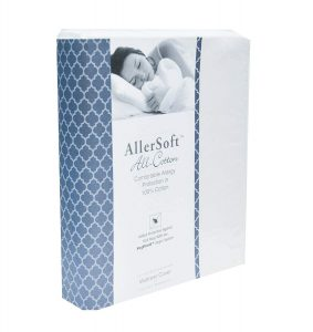 Allersoft 100% Cotton Bed Bug Mattress Protector