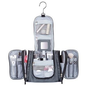 Hanging Toiletry Travel Bag by Borsali