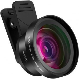 Hpory Phone Camera Lens 2 in 1 Mobile iPhone Camera Lens