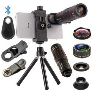 Mocalaca Cell Phone Camera Lenses Kit