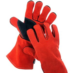 NoCry Heavy Duty Flame Retardant Heat Resistant Welding Gloves