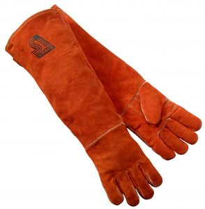 Steiner 21923-L 23-Inch Length Welding Gloves Foam Lined