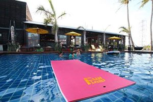 Fun Float Water Mat with Mooring Device
