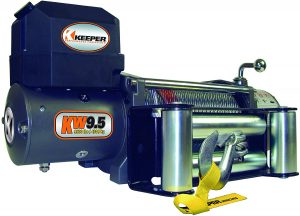 Keeper KW95122-1 Heavy-Duty Winch - 9500 lbs. Capacity