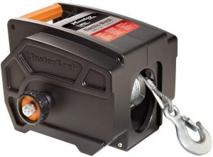 Master Lock Portable Electric Winch, 12-Volt DC, 2953AT