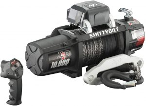Smittybilt 98510 Waterproof Rope Winch (10000 lb. Load Capacity)