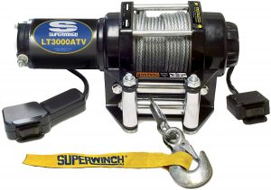 Superwinch 1130220 LT3000ATV 3,000lbs Electric Winch with handheld remote