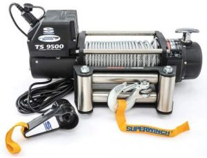 Superwinch 1595200 Tiger Shark Electric Winch, 9,500 lb. Capacity