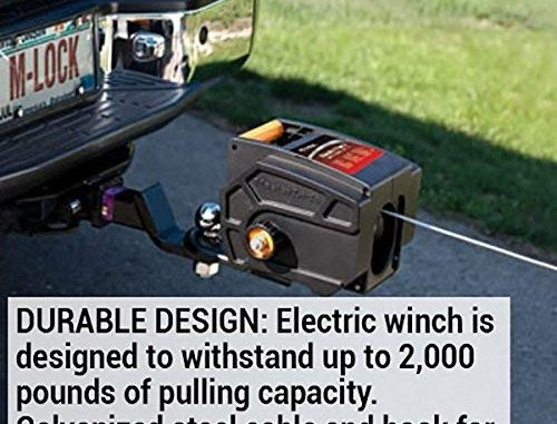 ToPortable Electric Winches