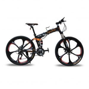 Cyrusher fr100 full-suspension folded mountain bike