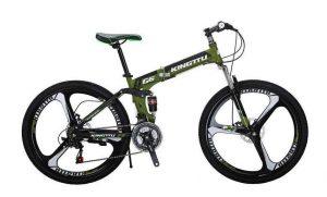 Extrbici foldable mountain bike
