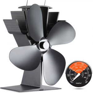 GALAFIRE 122°F Start Silent Stove Fan