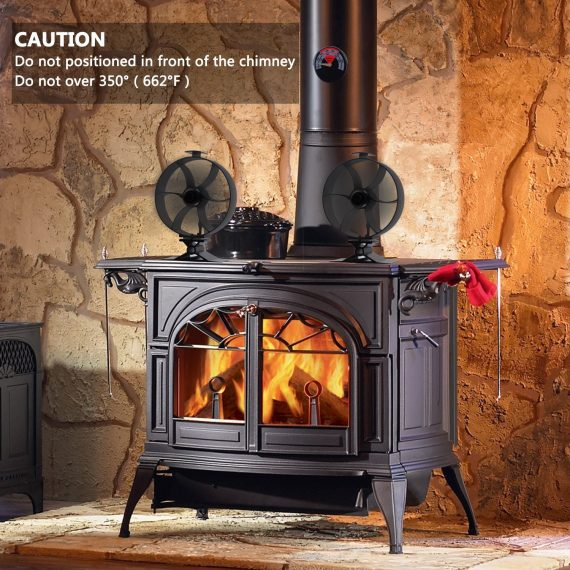 Heat Powered Wood Stove Fans