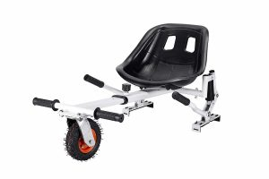 Hishine New Electric Hoverboards Go Kart w/Shock Absorption