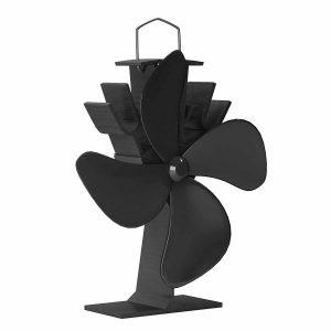 Home-Complete Stove Fan- Heat Powered Fan
