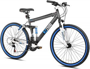 Kent KZ2600 Dual-Suspension Mountain Bike