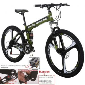 Kingttu eurg6 folding mountain bike