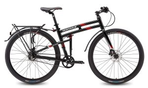 Montague paratrooper hybrid folding mountain bicycles