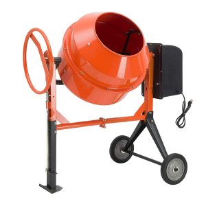 SUNCOO 4/5HP 5 Cu Ft Electric Concrete Seeds Mortar Cement Mixer