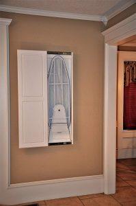 Slide-Away Ironing Boards