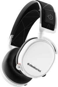 SteelSeries Arctis 7 Wireless Gaming Headset for PC & PlayStation 4 - White
