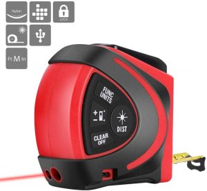 VIVOHOME 2 in 1 Digital Laser Tape Measure