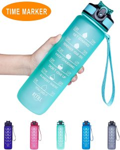 Venture Pal Motivational Sports Water Bottle