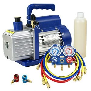 ZENY 3.5 CFM Single-Stage Vane Vacuum Pump