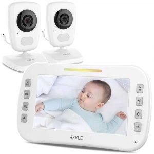 Axvue Video Baby Monitor w/ 2 Cameras