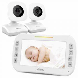 Axvue Video Baby Monitor w/ Two Cameras, Model E612