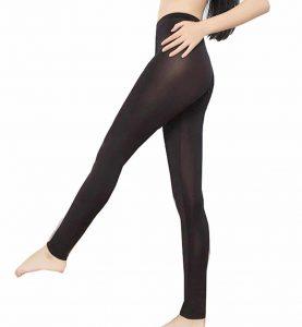 BGBISNLZ Women's Semi See-Through Sheer Pants