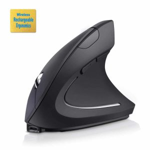 D3POTWMIN Rechargeable Ergonomic Wireless Mouse
