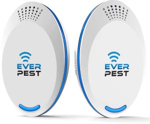 Ever Pest 2-Pack Ultrasonic Mosquito Repellent Control