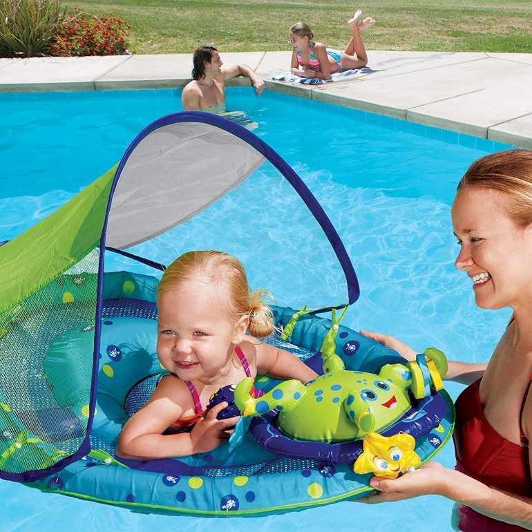 Free Swimming Baby Float