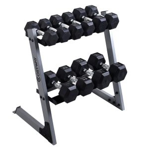 Giantex Dumbbell with Weight Storage Rack