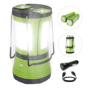 LE LED Camping Rechargeable Camping Lantern