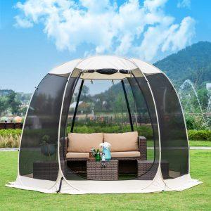 Leedor 10'x10' Gazebos Camping screen Tent