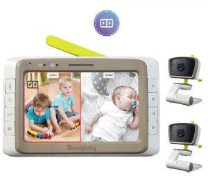 MoonyBaby Split Baby Monitor, Long Battery Life