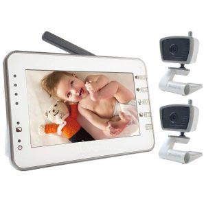 Moonybaby Video Baby Monitor, Power Saving, Auto Night Vision
