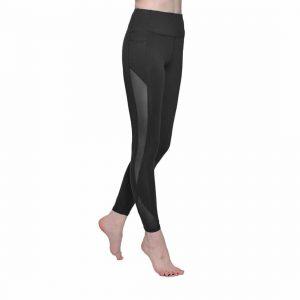 ONGASOFT Yoga Pants Mesh Workout Legging