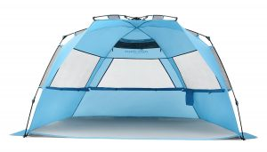 Pacific Breeze products Deluxe XL Easy Setup screen Beach Tent