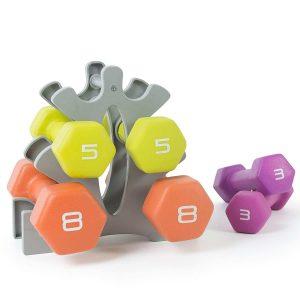 Tone Fitness Neoprene Dumbbell Set
