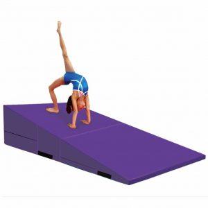 gymmatsdirect Folding Gymnastics Incline Mat